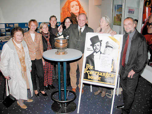 Feuerzangenbowle zum Filmtheater-Geburtstag